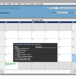 web2Project Calendar Module with Tooltip
