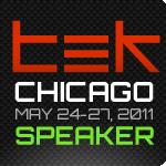 php|tek 2011 - Speaker Badge