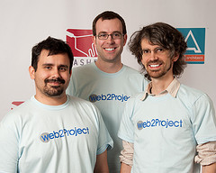 Some of the web2project Team, May 2011
